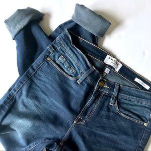 FRAME Blue Le Skinny de Jeanne Jean